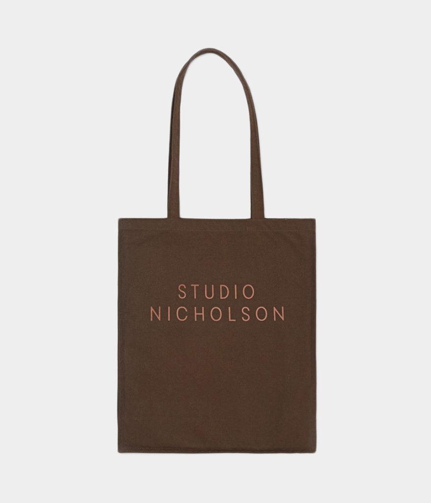 STUDIO NICHOLSON スタジオニコルソン 20AW STANDARD TOTE SMALL コットンキャンバススモールトート