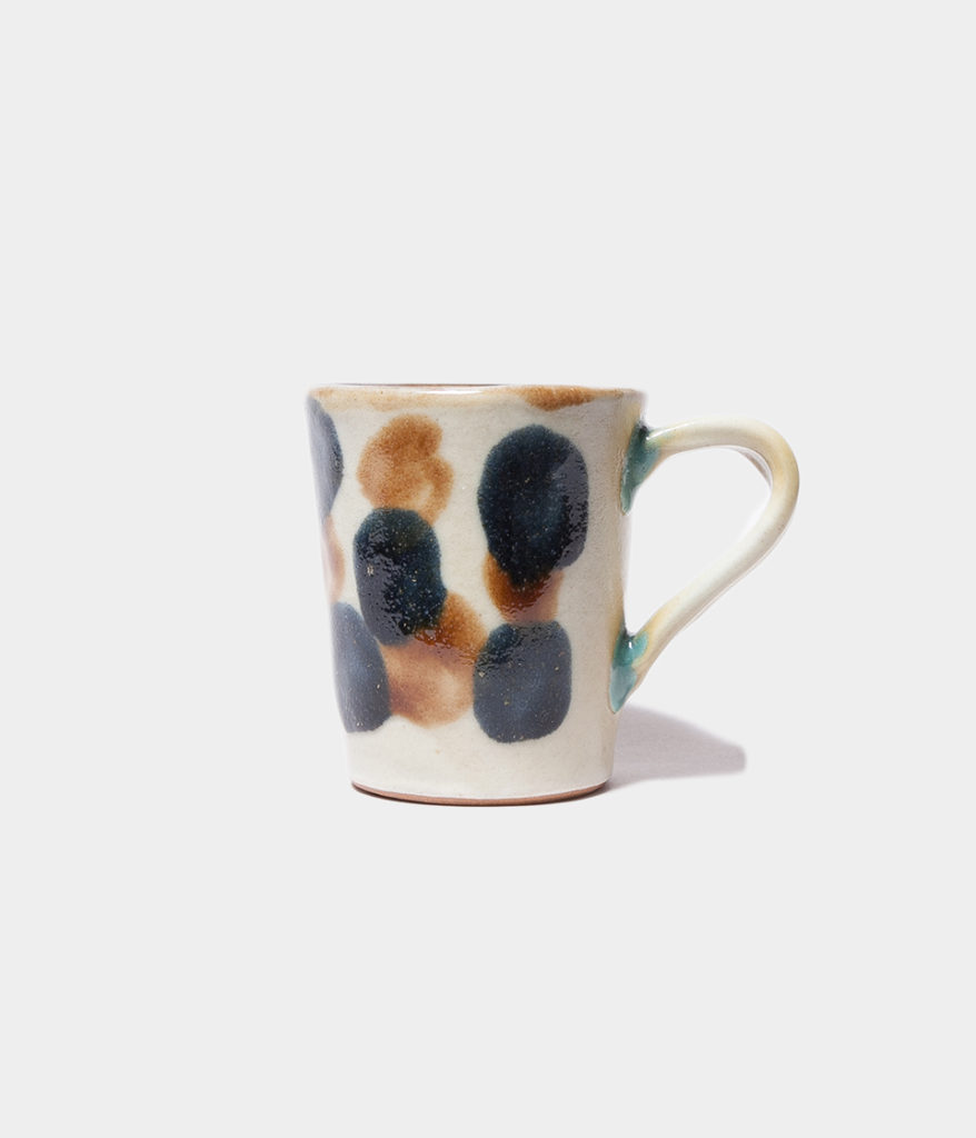 ノモ陶器製作所 マグカップ 点打