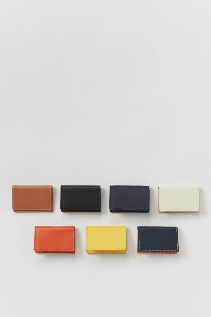 Hender Scheme エンダースキーマ 21ws folded card case ホールドカードケース