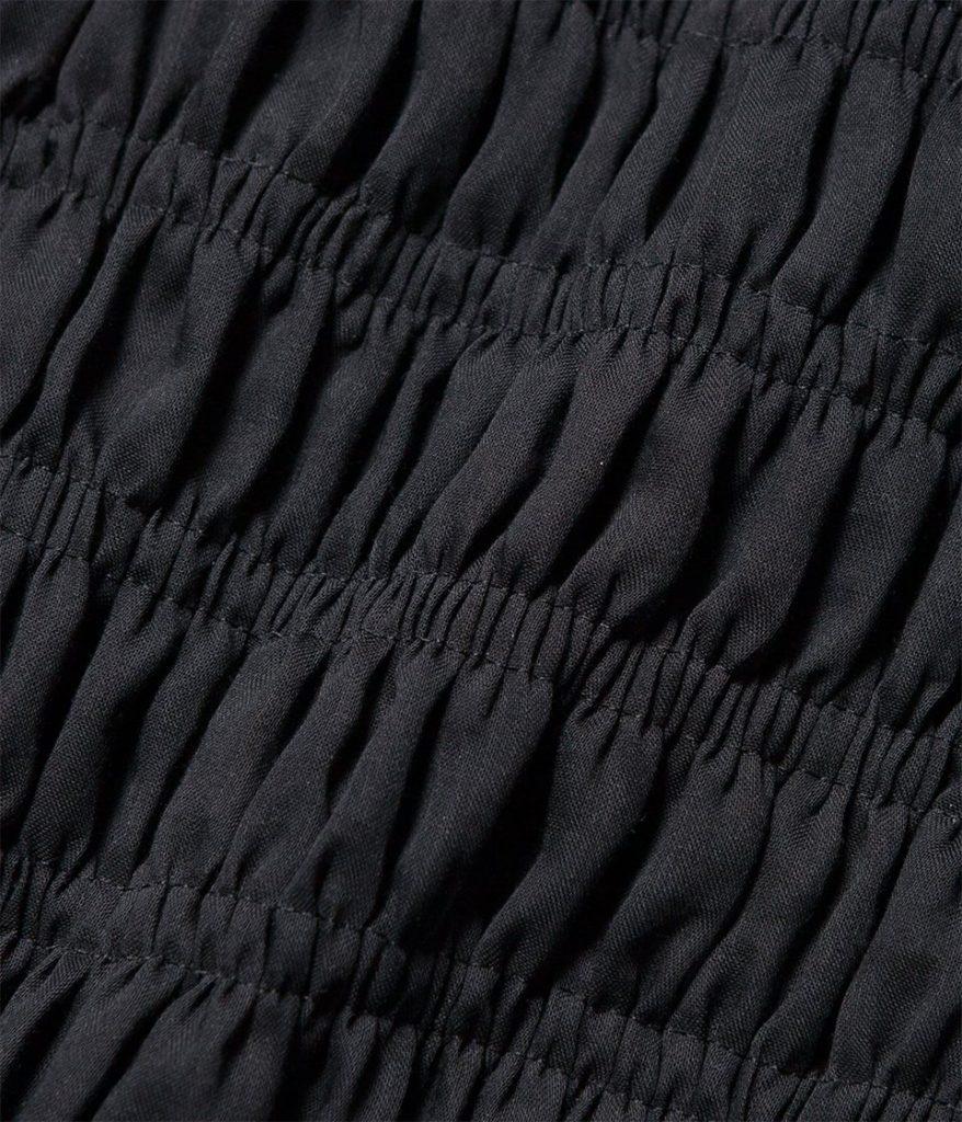 PHEENY フィーニー Organdie shirring skirt オーガンジーシャーリングスカート