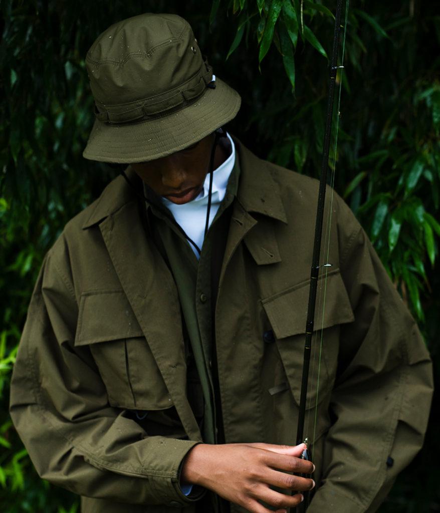 DAIWA PIER39 ダイワピア39 21SS GORE-TEX INFINIUM Tech Jungle Hat ゴアテックスインフィニウムテックジャングルハット