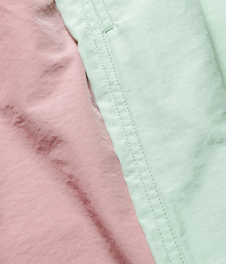 PHEENY フィーニー Nylon cotton grosgrain easy pants ナイロンコットングログランイージーパンツ
