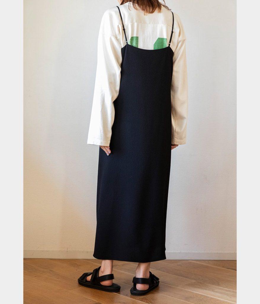 PHEENY フィーニー Dobby camisole dress ドビーキャミソールドレス