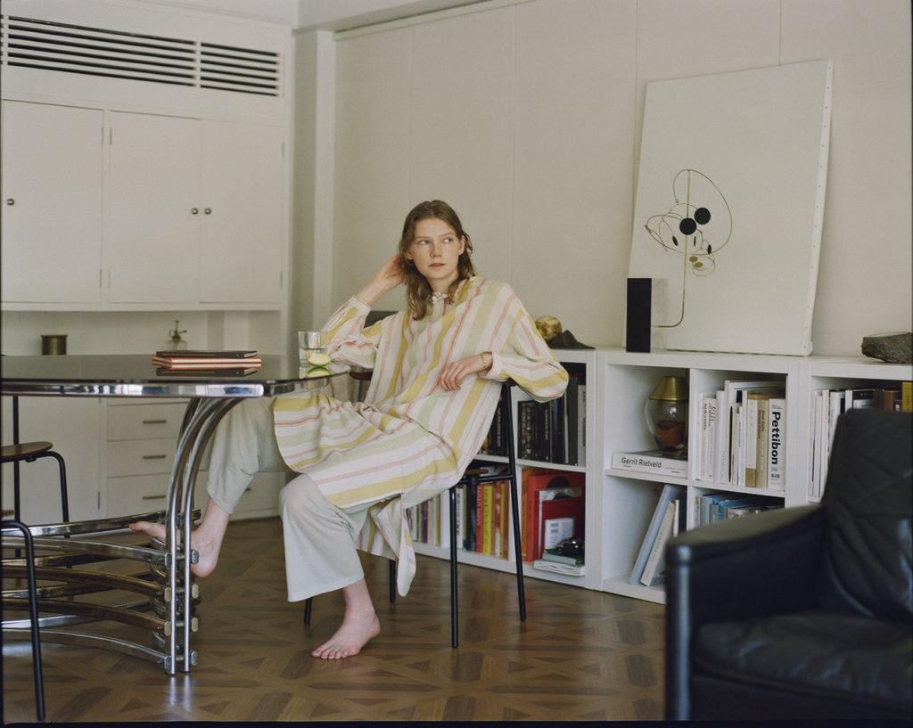 PHEENY フィーニー Cotton stripe shirt dress コットンストライプシャツドレス