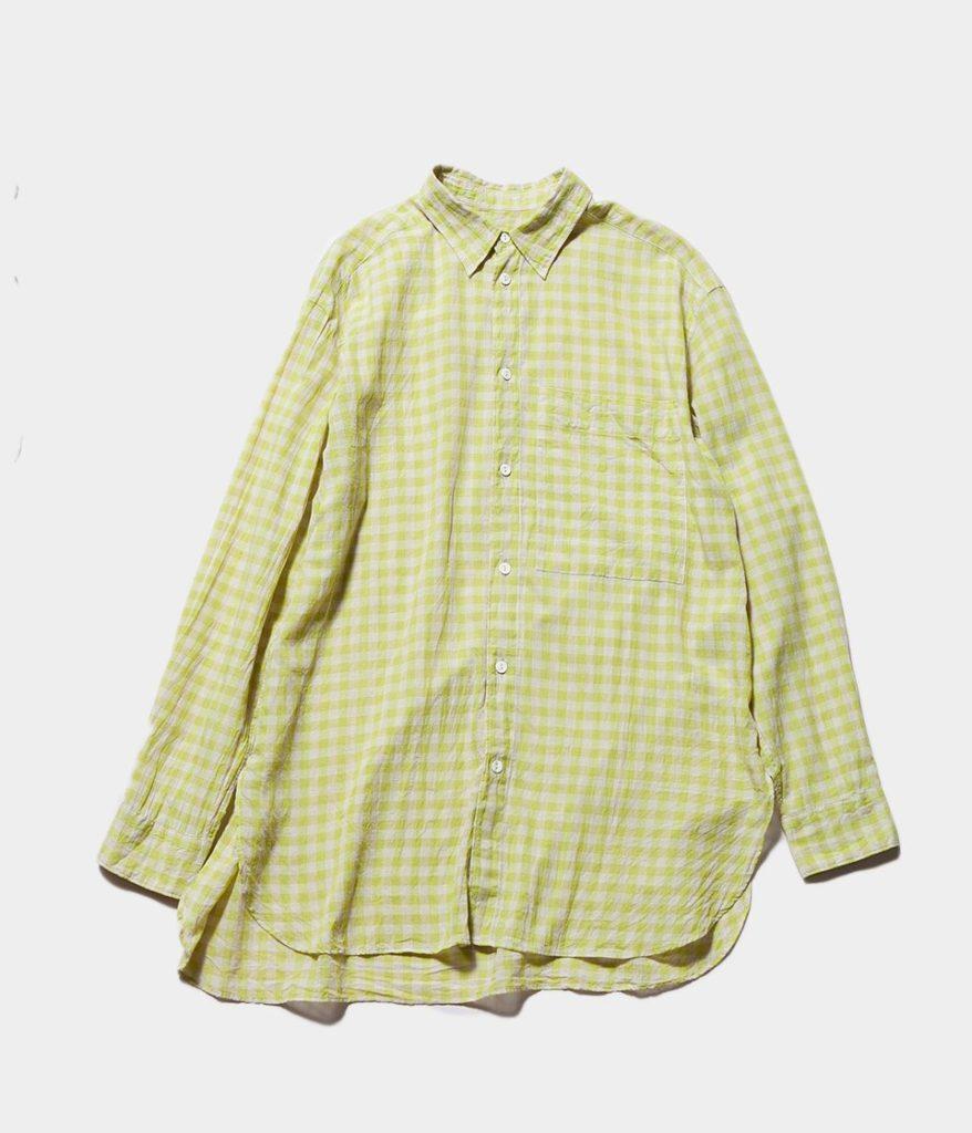 unfil アンフィル ultimate pima-voil classic shirt クラシックシャツ