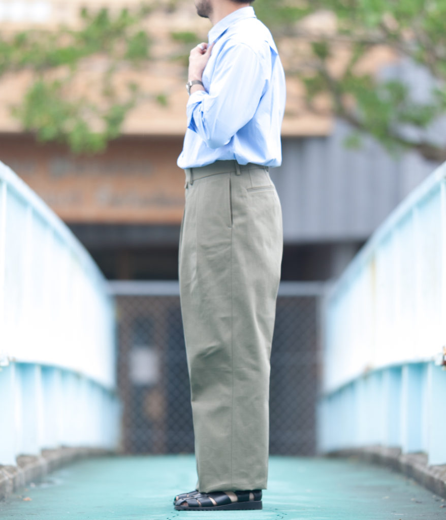 NEAT for SOUTH STORE French Heavy Oxford Wide ニート 別注 サウスストア ワイドシルエット
