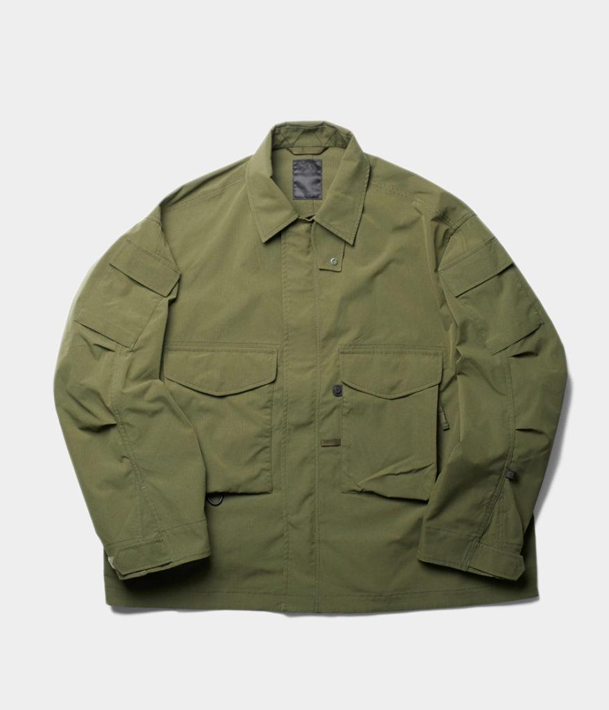 DAIWA PIER39 ダイワピア39 21AW Tech Mil BDU Jacket Rip-Stop