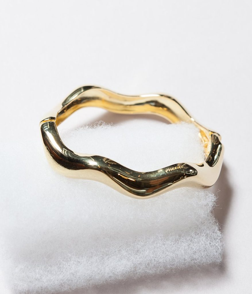 PHEENY フィーニー Wave bracelet ウェーブブレスレット