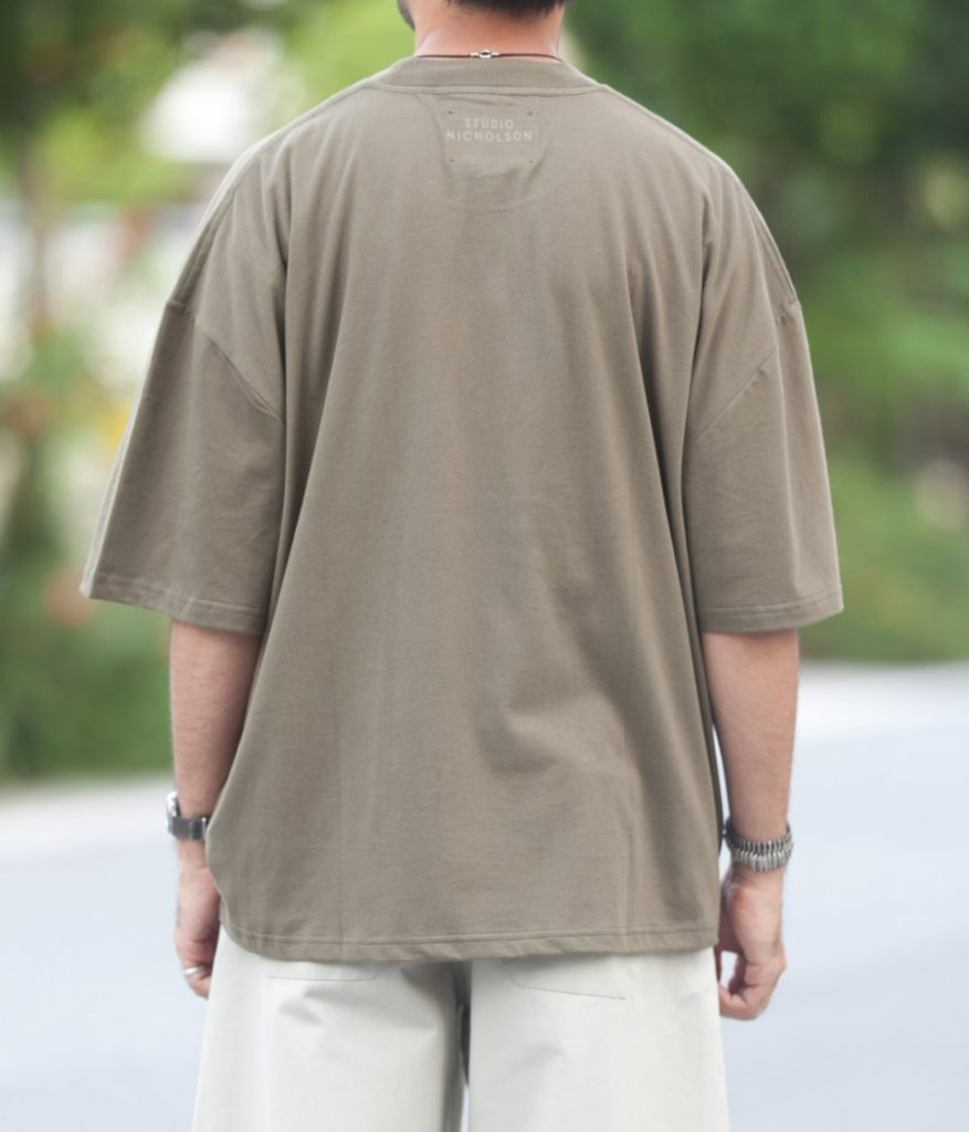 STUDIO NICHOLSON スタジオニコルソン 21AW PIU モックネックTシャツ