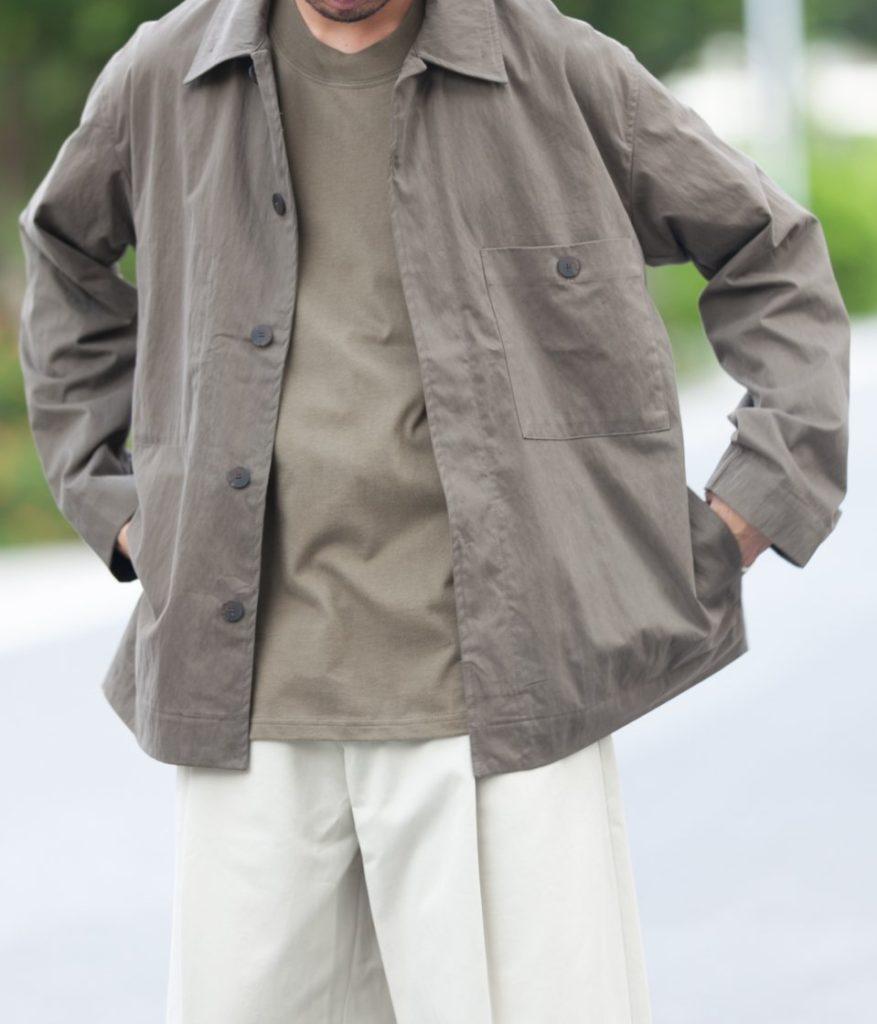 STUDIO NICHOLSON スタジオニコルソン 21AW FREDO プレミアムコットンパッチポケットジャケット