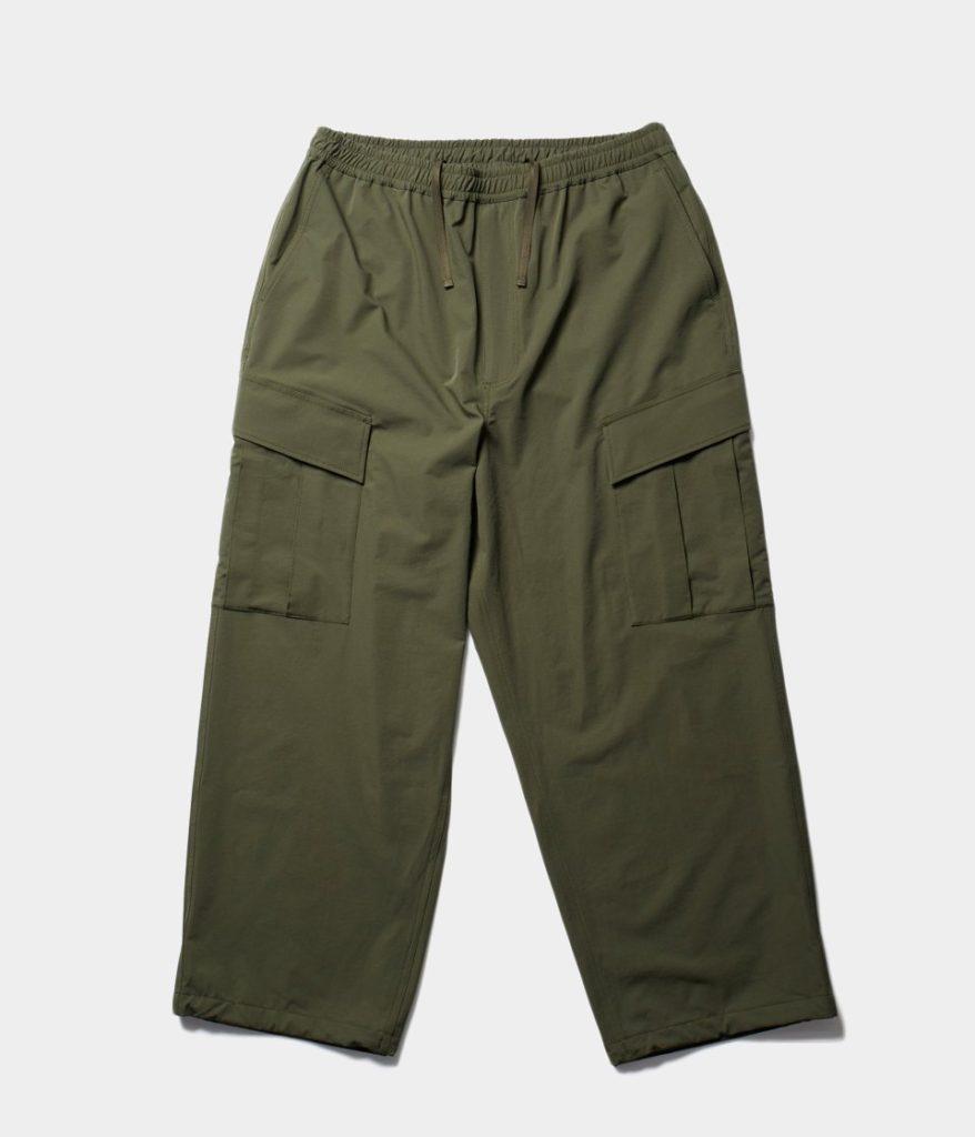DAIWA PIER39 ダイワピア39 21AW Teck Loose Stretch 6P Mil Pants ルーズテックストレッチ6Pミルパンツ