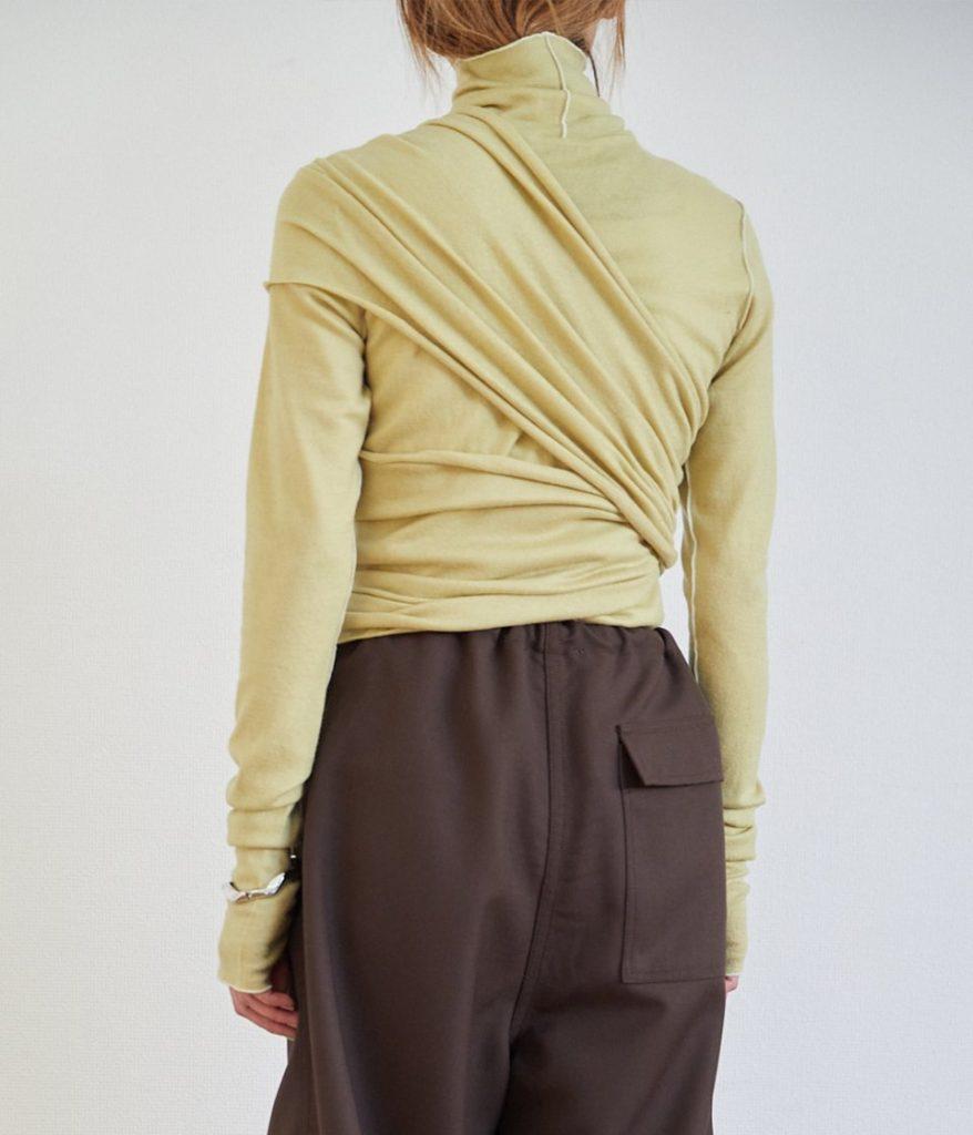 PHEENY フィーニー Wool ensemble L/S ウールアンサンブルロングスリーブ