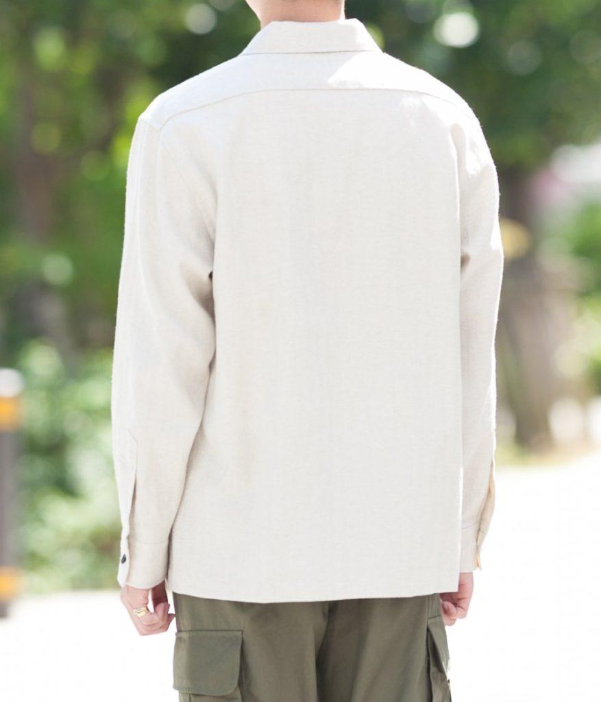 STILL BY HAND スティルバイハンド 21AW SH02213 シャツジャケット
